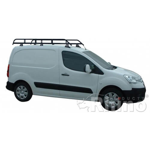 fdead35eeb5236 Rhino Modular Roof Rack - Citroen Berlingo 2008 On SWB Twin Doors SWB Twin  Doors