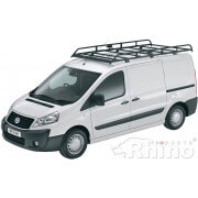 Rhino Modular Roof Rack - Toyota ProAce 2012 On LWB High Roof Twin Doors LWB High Roof Twin Doors