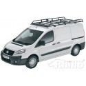 Rhino Modular Roof Rack - Citroen Dispatch 2007 - 2016 LWB Low Roof Twin Doors