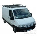 Rhino Modular Roof Rack - Peugeot Boxer 1994 - 2006 SWB Low Roof SWB Low Roof