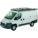 Rhino Modular Roof Rack - Peugeot Boxer 2006 On XLWB High Roof Twin Doors XLWB High Roof H2 L4