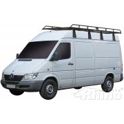 Rhino Modular Roof Rack - Mercedes Sprinter 2000 - 2006 MWB High Roof Twin Doors