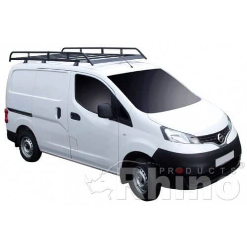 Roller 2 Bar 2002-2014 LOW ROOF ALL TWIN DOORS Fits Nissan Primastar Roof Bars