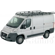 Rhino Modular Roof Rack - Vauxhall Movano 2010 On LWB Medium Roof (not fibreglass roof)