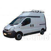 Rhino Modular Roof Rack - Nissan Primastar LWB High Roof Twin Doors LWB High Roof Twin Doors